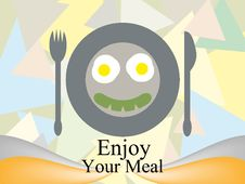 Free Enjoy Your Meal Royalty Free Stock Photography - 26910777