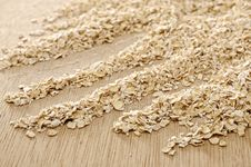 Free Oatmeal Background Stock Photography - 26913192