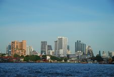 Cityscape Of  Bangkok Royalty Free Stock Image