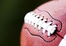 Free Close Up Of An American Football Stock Images - 26914074