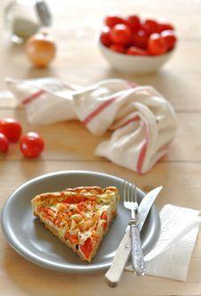 Free Tomato And Peanut Pie Stock Photography - 26915972