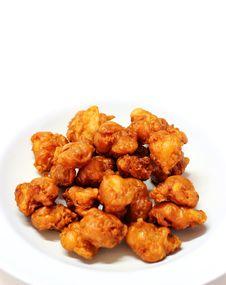 Free Thai Fried Sinew Of Chicken Stock Photo - 26919500