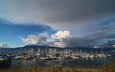 Free Beautiful Cloudy Sky At Vancouver Canada Royalty Free Stock Photo - 26919995