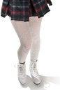 Free Legs Of Figure Skater Wearing Ice Skates Stock Photos - 26926153
