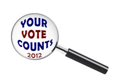 Free Your Vote Counts Stock Image - 26921391