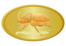 Free Golden Beetle Royalty Free Stock Photos - 26922348