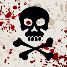 Free Skull With Crossbones Stock Photo - 26923530