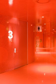 Free Red Hallway Stock Photo - 26923610