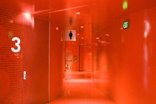 Free Red Hallway Stock Photos - 26923643