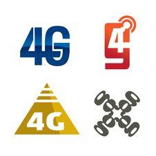 Free 4g Logo Icon Royalty Free Stock Photos - 26925578