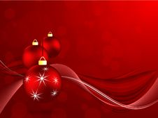 Free Christnas Vector Background. Eps10 Royalty Free Stock Photos - 26929528