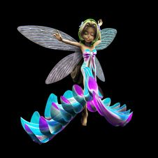 Free 3d  Fairy Stock Image - 26929951