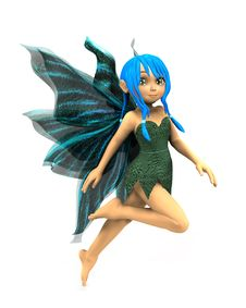 Free Cartoon Fairy Stock Image - 26929981