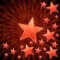 Free Grunge Stars Background Royalty Free Stock Images - 26930119