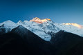Free Annapurna In Sunrise Light Royalty Free Stock Images - 26930259