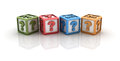 Free Question Marks Cubes Royalty Free Stock Photography - 26935267
