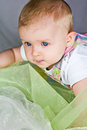 Free Earnest Baby Face Royalty Free Stock Photography - 26936097