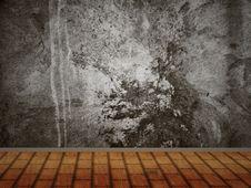 Free Concrete Wall Interior Royalty Free Stock Photos - 26930018