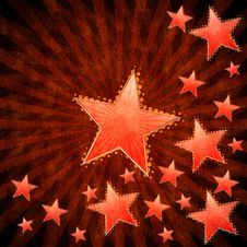 Free Grunge Stars Background Royalty Free Stock Images - 26930119
