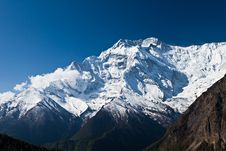 Free Annapurna Mountain, Himalaya Royalty Free Stock Photography - 26930257