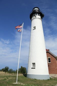 Free Lighthouse Building Royalty Free Stock Photography - 26930347