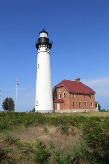 Free Lighthouse On Lake Superior Royalty Free Stock Photo - 26930375