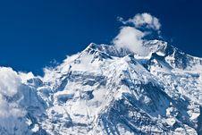 Free Annapurna Mountain, Himalaya Stock Photo - 26930390