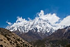 Free Annapurna Mountain, Himalaya Royalty Free Stock Photo - 26930395