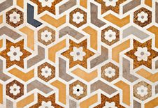 Free Detail Of Decorating The Taj Mahal Stock Photography - 26930402