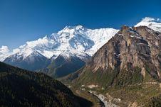 Free Annapurna Mountain, Himalaya Stock Photo - 26930430