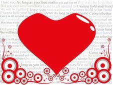 Love Is All Around Royalty Free Stock Images