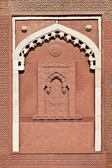 Free Alcove, Agra Fort Royalty Free Stock Images - 26930469