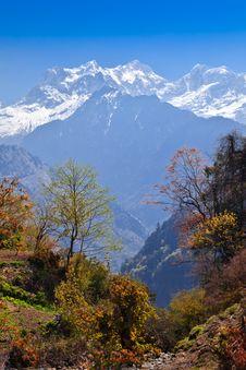 Free Himalayas Landscape, Nepal Royalty Free Stock Photo - 26930475