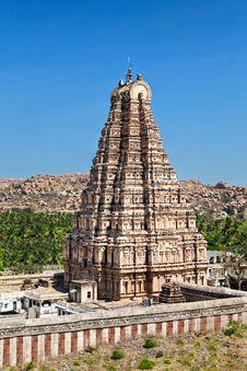 Free Virupaksha Temple, Hampi Royalty Free Stock Images - 26930579