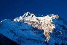 Free Annapurna In Sunrise Light Royalty Free Stock Photo - 26930815