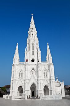 Free Catholic Church In Kanyakumari Stock Image - 26930861