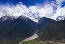 Free Himalayas Landscape, Nepal Royalty Free Stock Photo - 26930905