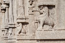 Free Carving On Temple Stock Images - 26930914
