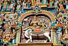 Free Relief Of Menakshi Temple Stock Photo - 26930970
