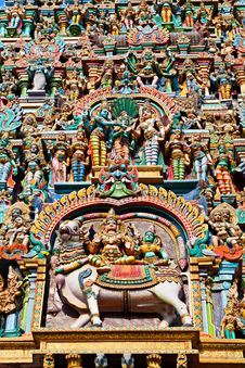 Free Relief Of Menakshi Temple Stock Photos - 26930973