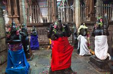 Free Inside Meenakshi Temple Royalty Free Stock Images - 26930989