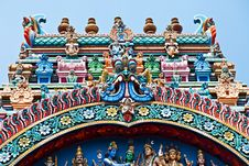 Free Relief Of Menakshi Temple Royalty Free Stock Photo - 26930995