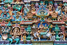 Free Relief Of Menakshi Temple Stock Image - 26931001