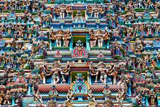 Free Relief Of Menakshi Temple Stock Photography - 26931002