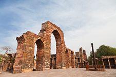 Free Iron Pillar, India Stock Photo - 26931080