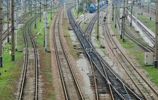 Free Confusing Railway Royalty Free Stock Photos - 26932198