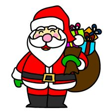 Free Cartoon Santa Claus Royalty Free Stock Photo - 26932355