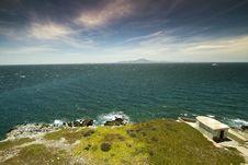 Free Waves Crashing On Coastline. Royalty Free Stock Photos - 26932418