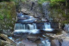 Free Blue Waterfall Stock Photography - 26933052