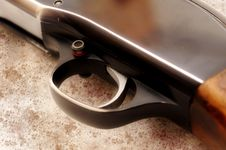 Free Rifle Trigger Royalty Free Stock Photos - 26939758